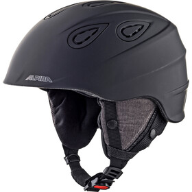 Alpina Grap 2.0 L.E. Casque de ski, black matt